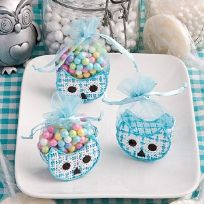 Adorable Blue Owl Basket Favours